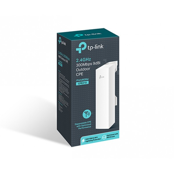 TP-LINK 2.4GHz 300Mbps 9dBi Outdoor CPE (TL-CPE210)
