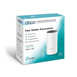 TP-LINK Deco M4 AC1200 Whole Home Mesh Wi-Fi System (1 Pack)