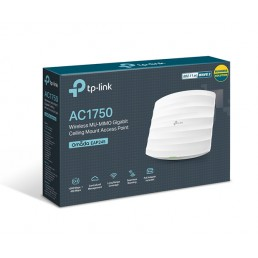 TP-LINK AC1750 Wireless Dual Band Gigabit Ceiling Mount Access Point (TL-EAP245)
