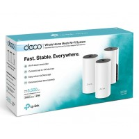 Deco M4 AC1200 Whole Home Mesh Wi-Fi System (3 Pack)