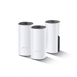 TP-LINK  Deco P9 Whole Home Hybrid Mesh Wi-Fi System AC1200 + AV1000 (3 Pack)