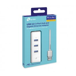 TP-LINK USB 3.0 to Gigabit Ethernet and 3-port USB Hub Adapter (TL-UE330)