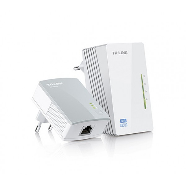 TP-LINK 300Mbps AV600 WiFi Powerline Starter Kit