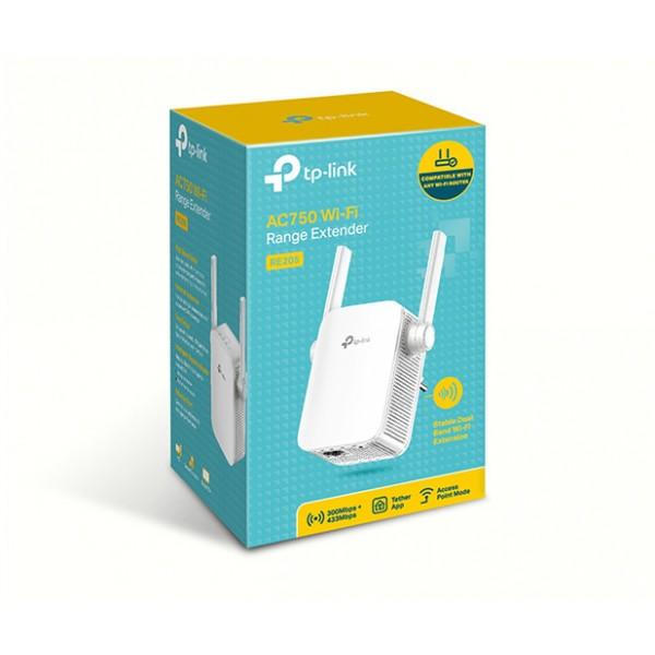 TP-LINK AC750 WiFi Range Extender - RE205