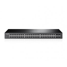 TP-Link JetStream 48-Port Gigabit Smart Switch with 4 SFP Slots (T1600G-52TS)
