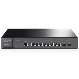 TP-LINK JetStream 8-Port Gigabit L2 Managed Switch with 2 SFP Slots