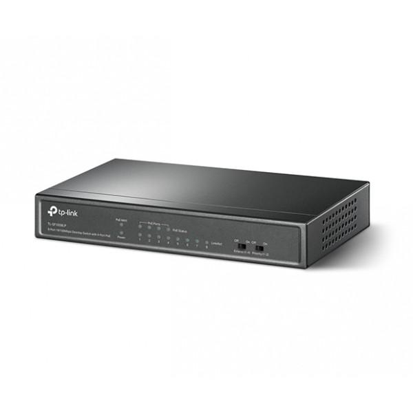TP-LINK 8-Port 10/100Mbps Desktop Switch with 4-Port PoE