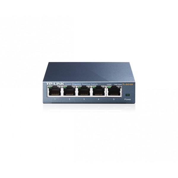TP-LINK 5-Port 10/100/1000Mbps Desktop Switch (TL-SG105)