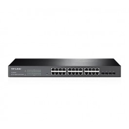 TP-LINK JetStream 24-Port Gigabit Smart Switch with 4 SFP Slots (T1600G-28TS)