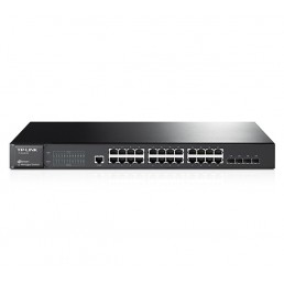 TP-LINK JetStream 24port Gigabit L2 Managed Switch (T2600G-28TS)