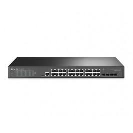 TP-LINK JetStream 24-Port Gigabit L2+ Managed Switch with 4 SFP Slots