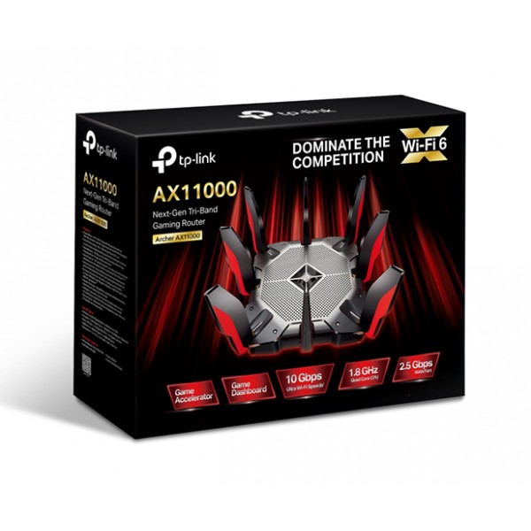 TP-LINK AX11000 Next-Gen Tri-Band Gaming Router