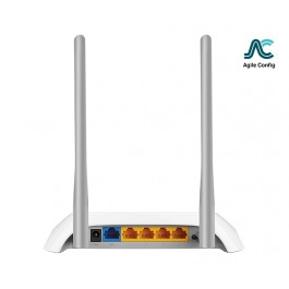 TP-LINK WR850N 300Mbps Wireless Router (Agile)