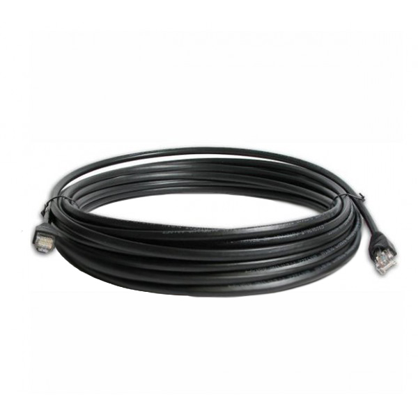 15m Outdoor Shielded & Grounded CAT5e Cable