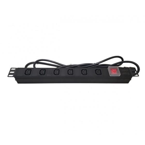 UltraLAN 6-socket (IEC plug) PDU