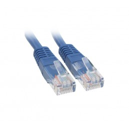 50cm CAT5e Flylead (Blue)