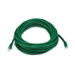 10m CAT5e Flylead (Green)