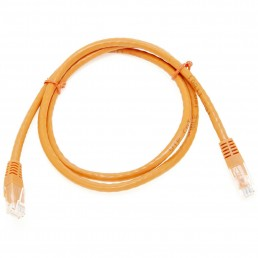 2m CAT5e Flylead (Orange)