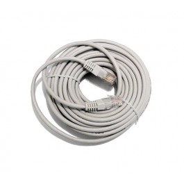 10m CAT6 Flylead (Grey)