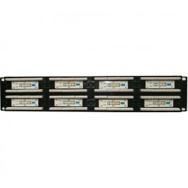 UltraLAN 48port CAT6 2U Patch Panel