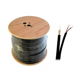 UltraLAN RG59 CCS Siamese Coaxial & Power Cable (305m)