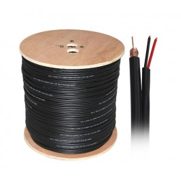 UltraLAN RG59 Siamese Coaxial & Power Cable (305m)