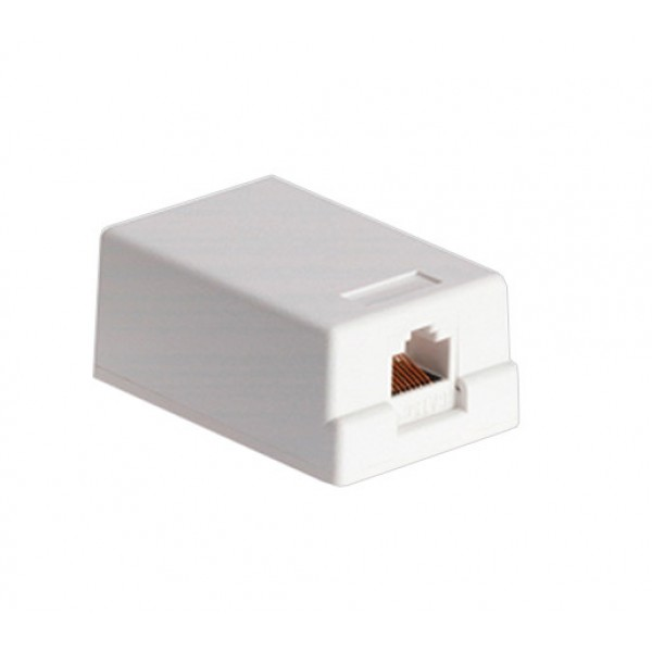 CAT6 Single Port Surface Mount Box