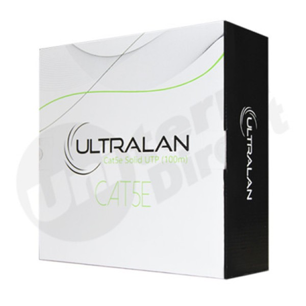 UltraLAN Cable - CAT5e Solid UTP (100m)