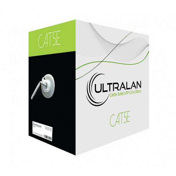 UltraLAN Cable - CAT5e Solid UTP (305m)