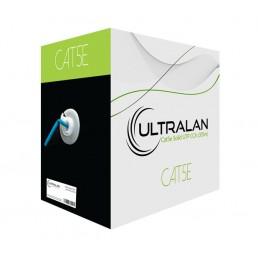 UltraLAN Cable - CAT5e Solid UTP BLUE (305m)