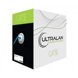 UltraLAN Cable - CAT5e Solid UTP BLUE (305m)