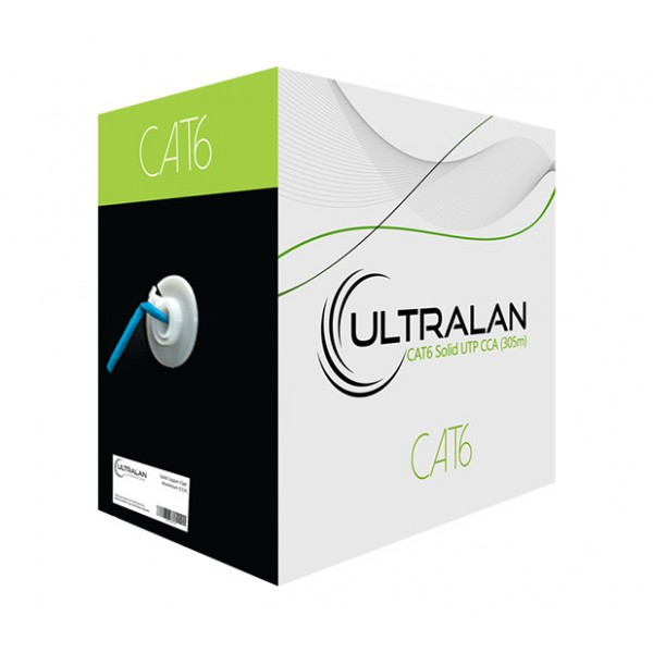 UltraLAN Cable - CAT6 Solid UTP CCA (305m)