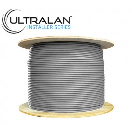 UltraLAN Installer Series - CAT6 CCA Solid UTP (500m - Grey)