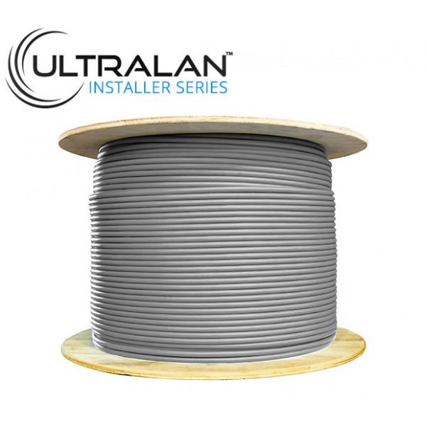 UltraLAN Installer Series - CAT6 CCA Solid UTP (500m - Grey)