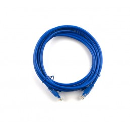 1m CAT6 Flylead (Blue)
