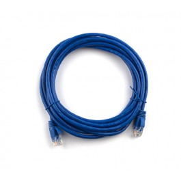 2m CAT6 Flylead (Blue)