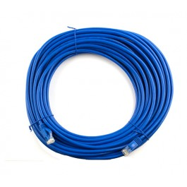 5m CAT6 Flylead (Blue)