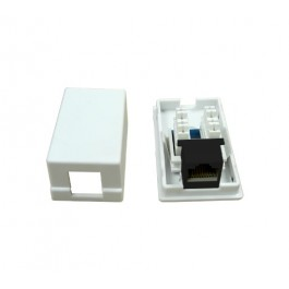 CAT5e Single Port Surface Mount Box