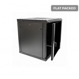 UltraLAN 12U Fixed Wall Mount Cabinet (Flat Packed)