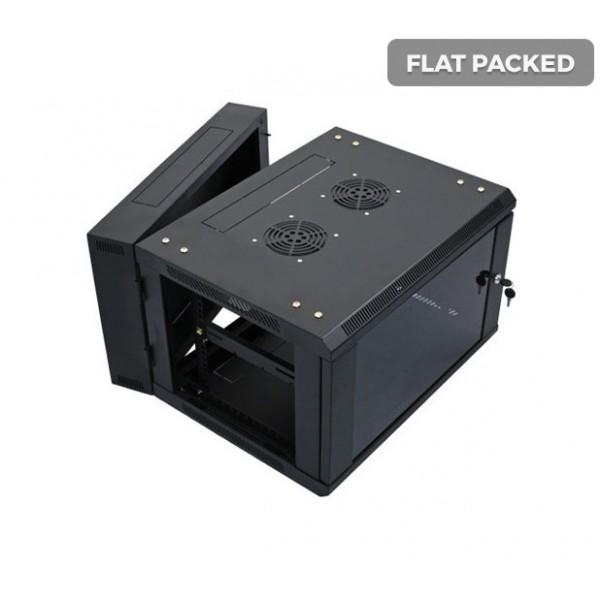 UltraLAN 4U Swing Frame Wall Mount Cabinet (Flat Packed)
