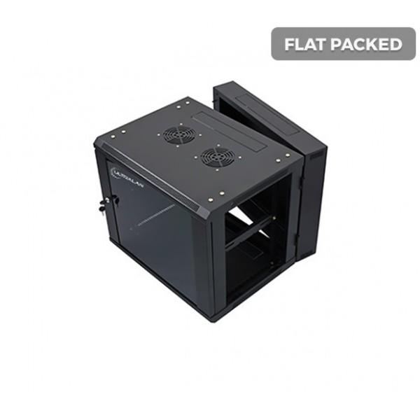 UltraLAN 9U Swing Frame Wall Mount Cabinet (Flat Packed)
