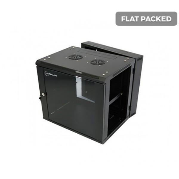 UltraLAN 12U Swing Frame Wall Mount Cabinet (Flat Packed)