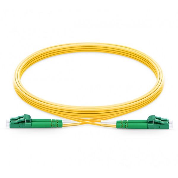 UltraLAN Fiber Flylead LC-LC APC SM Duplex (1Meter)