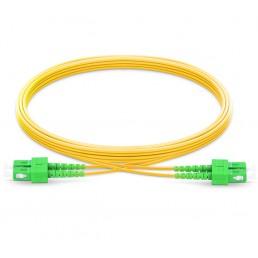UltraLAN Fiber Flylead SC-SC APC SM Duplex (1Meter)