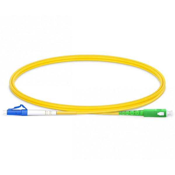 UltraLAN Fiber Flylead LC UPC - SC APC SM Simplex (3Meter)