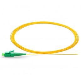 UltraLAN Fiber Pigtail - LC APC SM Simplex 0.9m