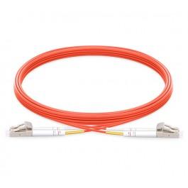 UltraLAN Fiber Flylead LC-LC UPC MM Duplex OM2 (1Meter)