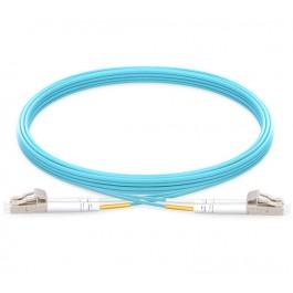 UltraLAN Fiber Flylead LC-LC UPC MM Duplex OM3 (1Meter)