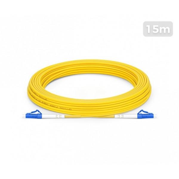 UltraLAN Fiber Flylead LC-LC UPC SM Simplex (15Meter)