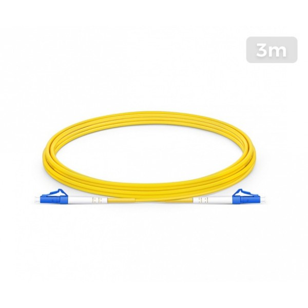 UltraLAN Fiber Flylead LC-LC UPC SM Simplex (3Meter)